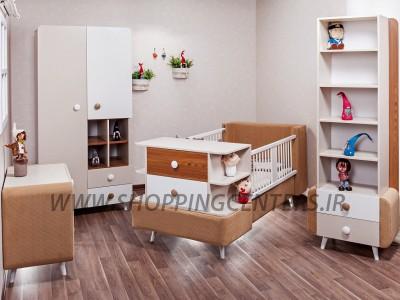 سرویس خواب نوزاد مدل برفی