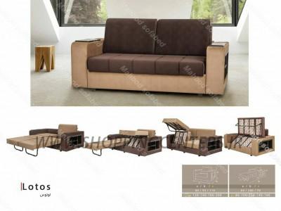 مبل تختخواب شو مدل لوتوس