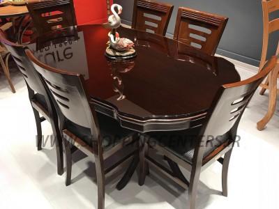 میز ناهار خوری مدل گلدانی