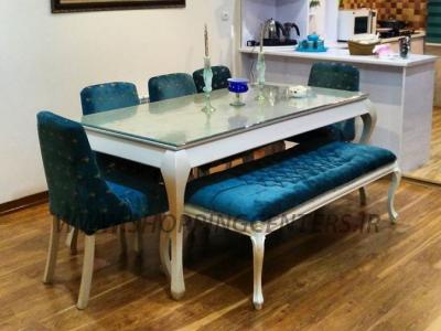 میز ناهار خوری صندلي چستر لوييز