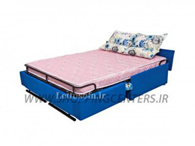 مبل تختخواب شو مدل سفیر دونفره