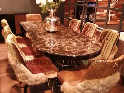 میز ناهار خوری روما