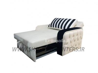 مبل تختخواب شو مدل نیوپرنس چستر یکنفره