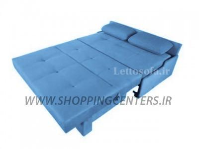 مبل تختخواب شو مدرن مدل کارن بدون دسته