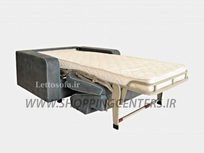 مبل تختخواب شو مدرن مدل میلان یکنفره