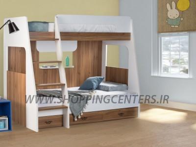 تخت دو طبقه سما