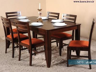 میز ناهار خوری 6 نفره SZ13