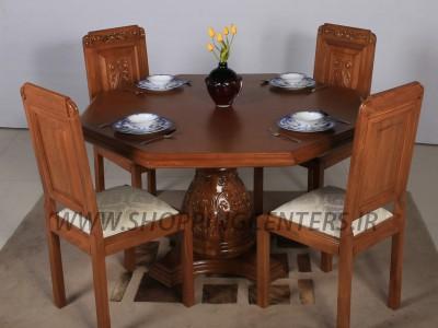 میز ناهار خوری پایه گلدانی