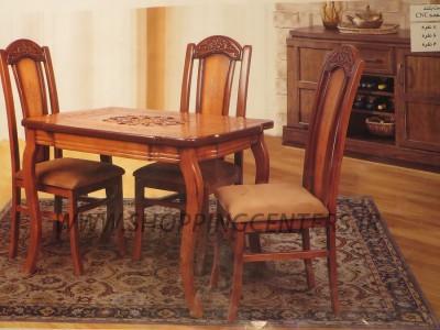 میز ناهار خوری منبتی