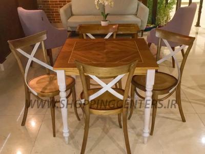 میز ناهار خوری میز کد_ T214  و  صندلی کد_ C128