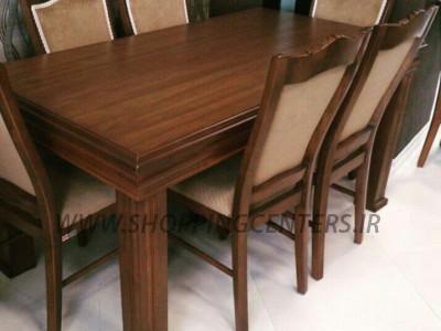میز ناهار خوری میز لادن صندلی تاج منبطی