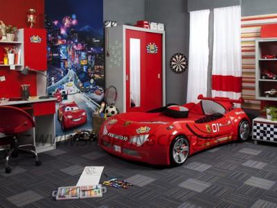 سرویس خواب نوجوان پسرانه مدل ماشین