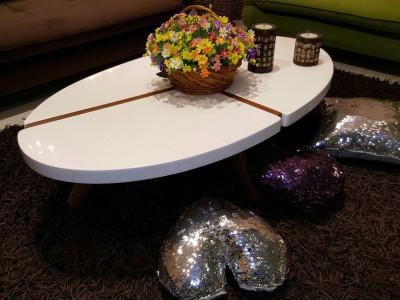 میز عسلی و جلومبلی  (پولیشی)