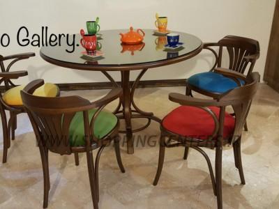 میز ناهار خوری میز کد_  T202      _      صندلی کد- C117