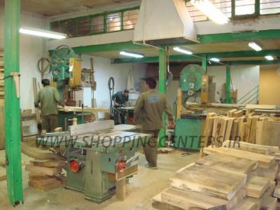 ویترین چوبی مرحله تولید