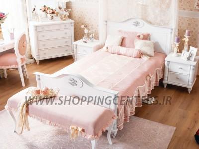 تخت یک نفره رمانتیک
