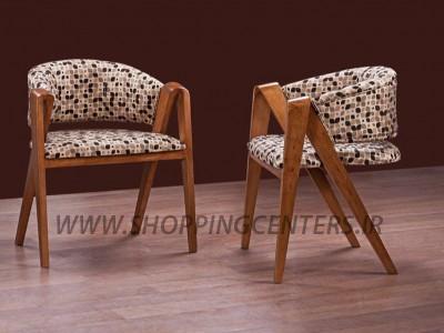 مبلمان مدرن صندلی میزبان مُدل رُز