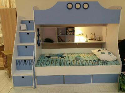 تخت دو طبقه نوجوان، مدل ویکتوری