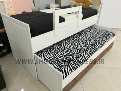 تخت دو طبقه دوطبقه کارن