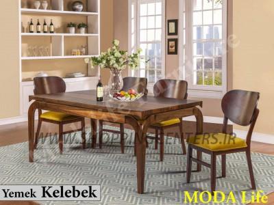میز ناهار خوری مدل کلبک