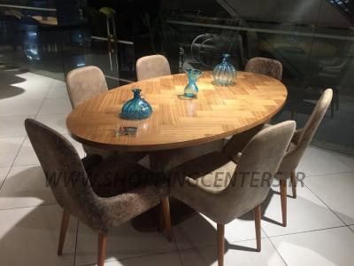 میز ناهار خوری مدل ويتو