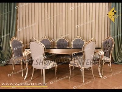 میز ناهار خوری مدل رومنس