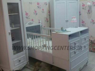 سرویس خواب نوزاد مدل رز