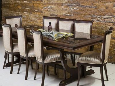 میز ناهار خوری مدل پاریس